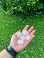 Hagelunwetter am 27.06.2020 in Rain am Lech