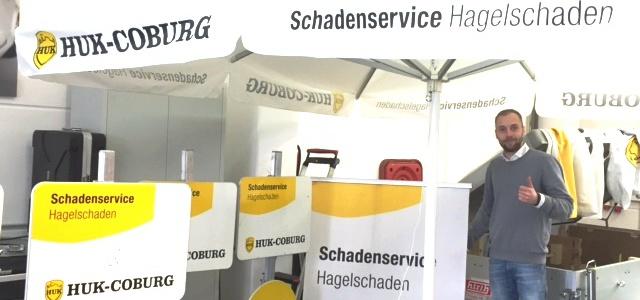 Hagelvorbereitungen mit der HUK-COBURG Versicherung!